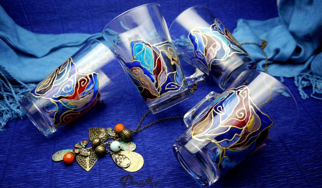 Ръчно рисувани чаши