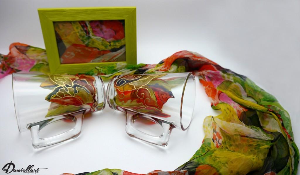 Чаши - Ръчно рисувани