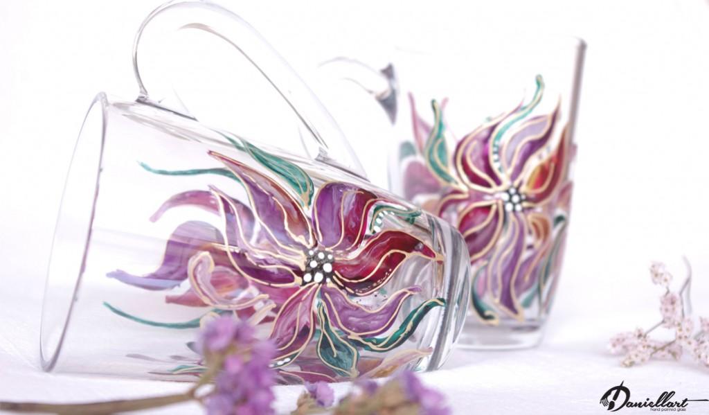 Ръчно рисувани чаши за топли напитки