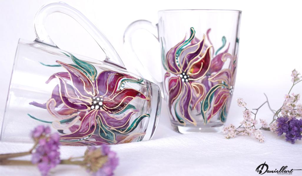 Чаши за топли напитки - Ръчно рисувани