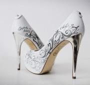 Обувки- Ръчно рисувани